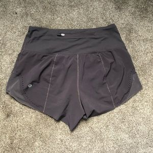 Lululemon laser cut shorts